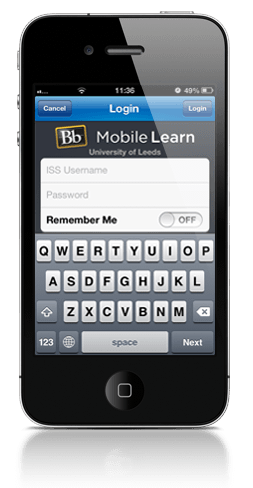 Image of Blackboard Mobile Login